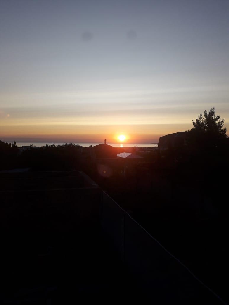 Рассвет. Вид с окна