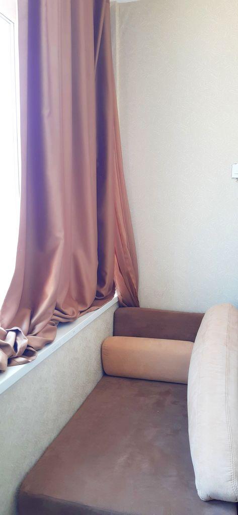 Кухня-гостиная односпальная кровать